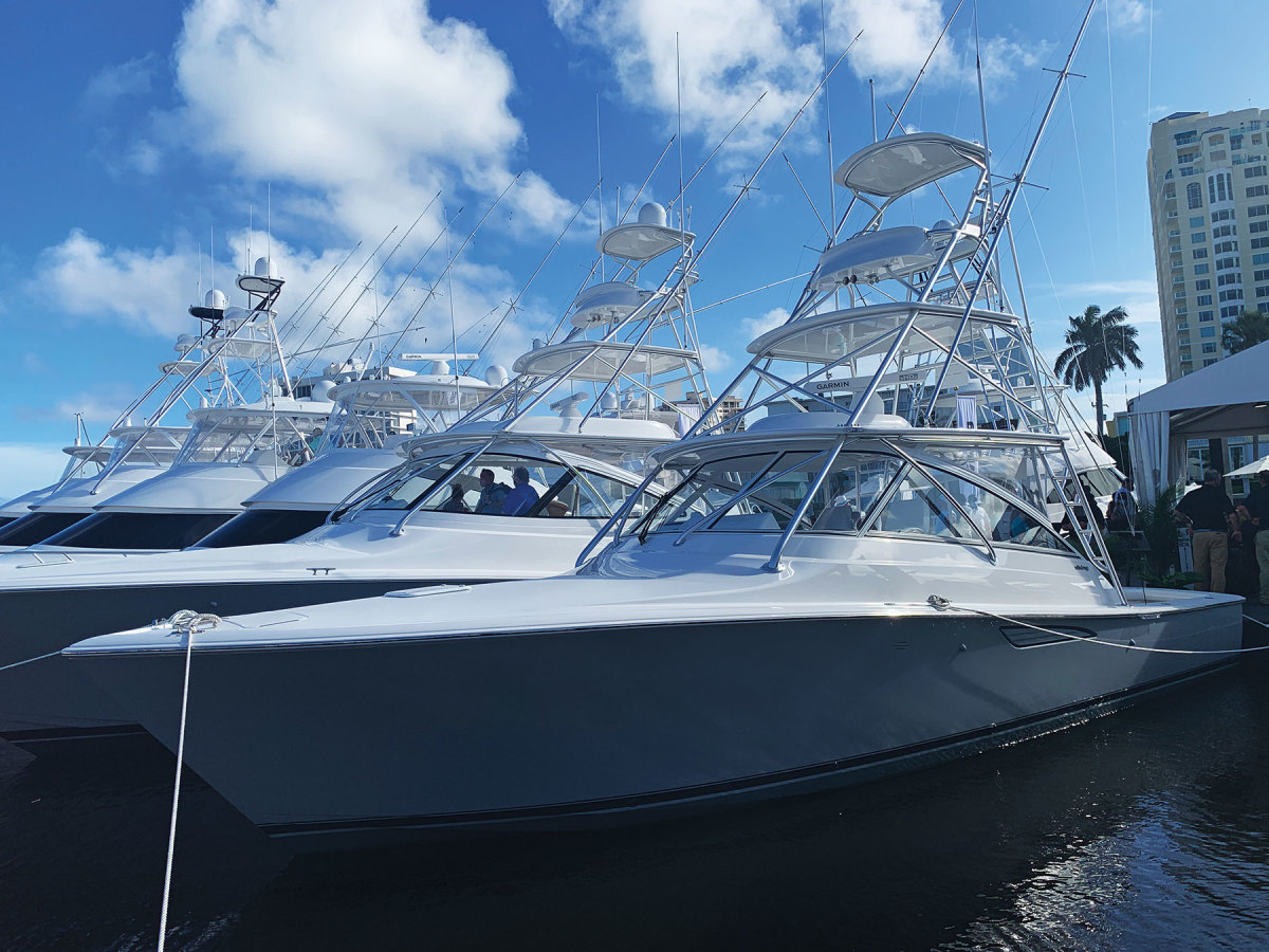 The builder says it had the largest display at FLIBS.