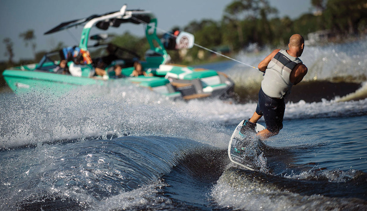 Ski and wake boats are at the higher end of the market, but have seen double-digit gains month after month this year.
