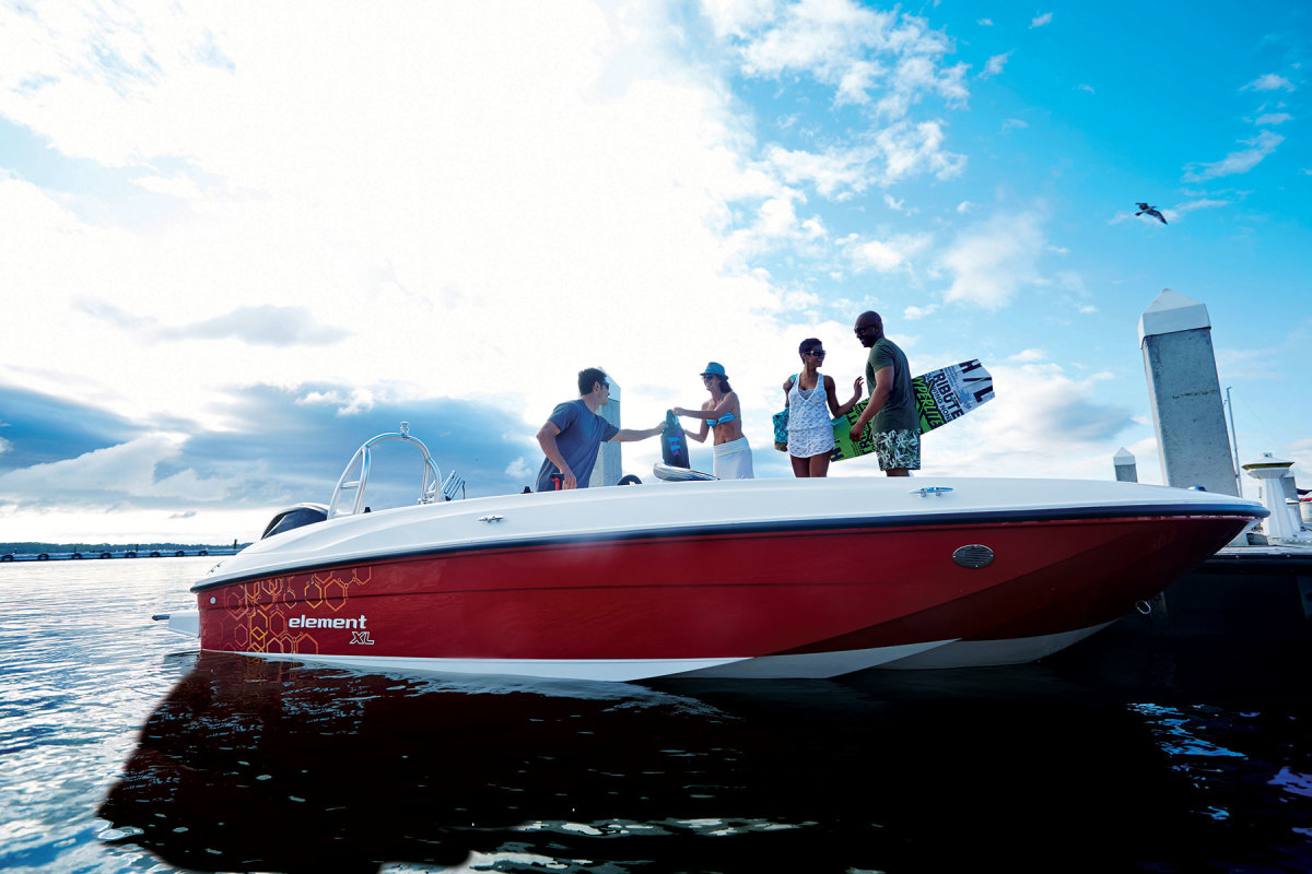 Bayliner was one of the top-selling runabouts in the pandemic, suggesting that new buyers were looking for affordable, entry-level boats.,