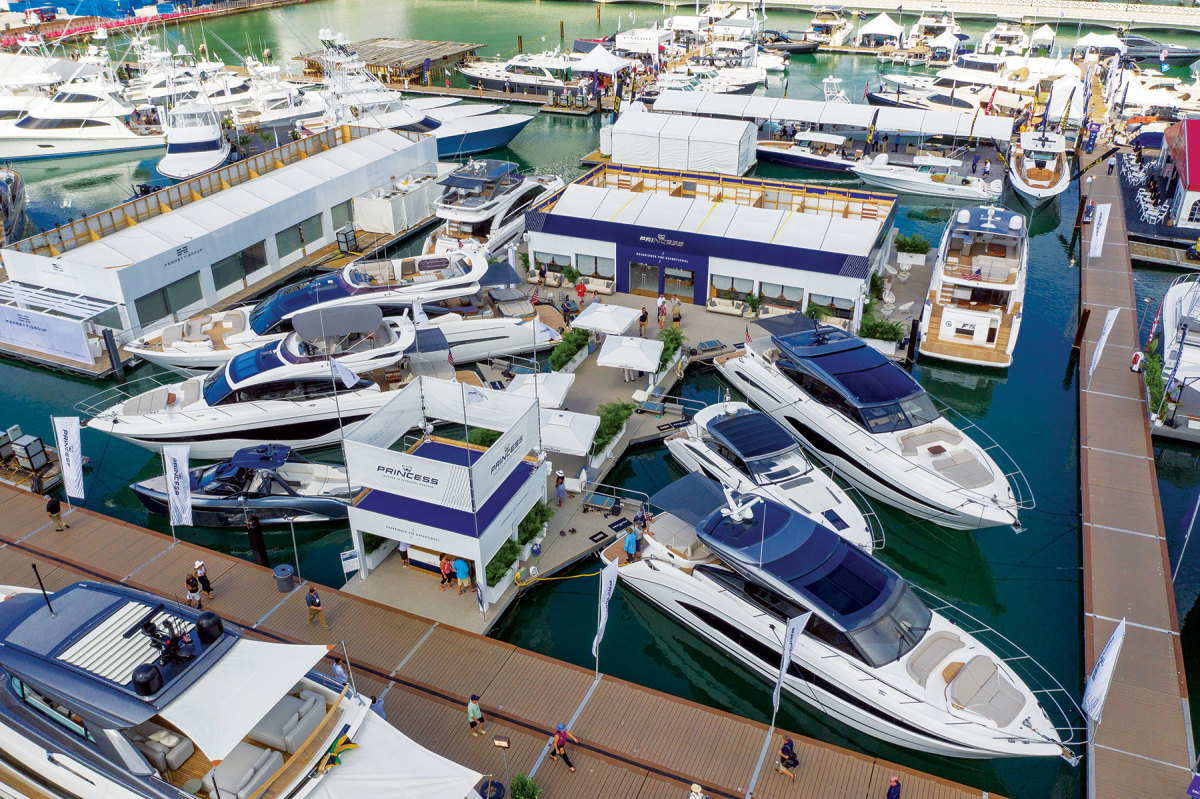 Princess Yachts will offer its Yacht Safe system on its entire model lineup.