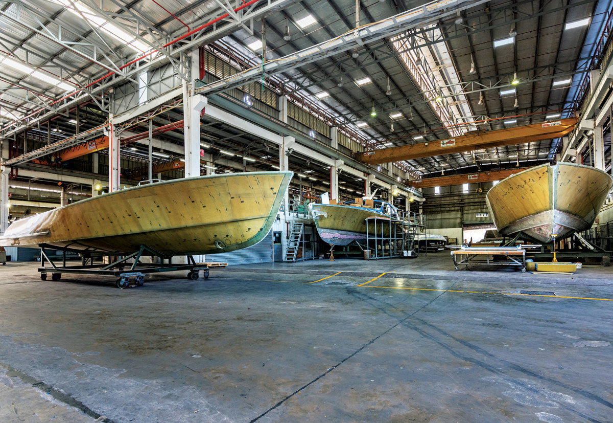 Grand Banks is consolidating its boat production facilities to Malaysia to improve operational and