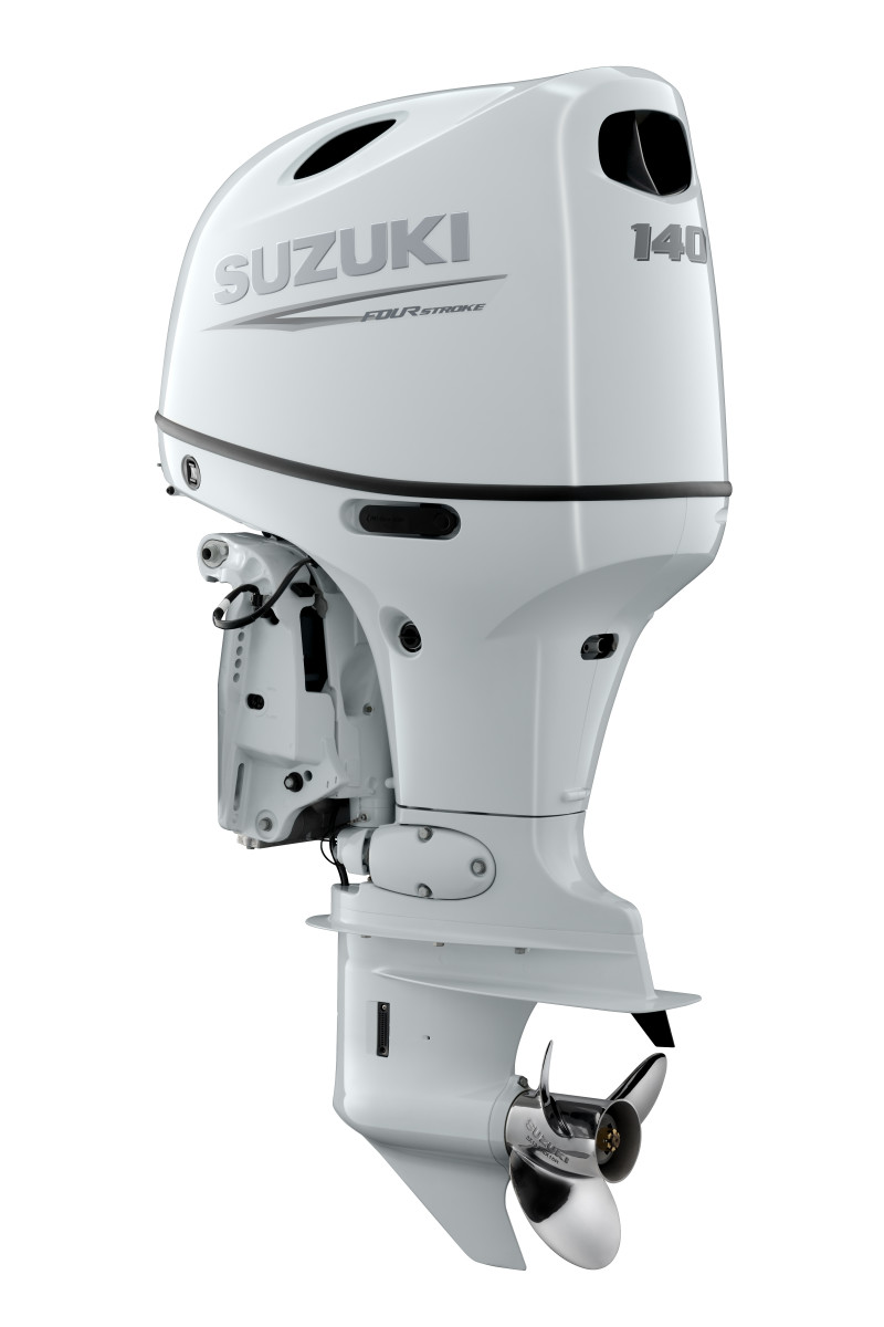 Suzuki Marine announced a new 140-hp outboard earlier this year — the first 4-stroke outboard in its class to include factory drive-by-wire technology.