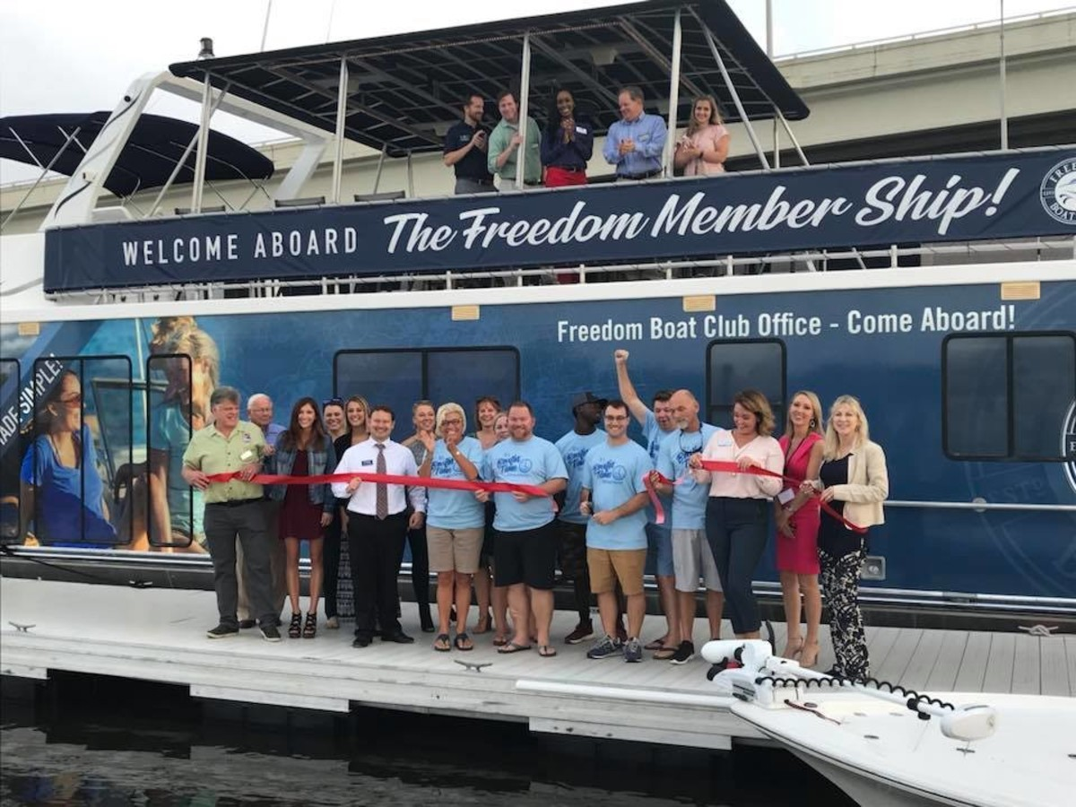 2_Freedom Boat Club Ribbon Cutting