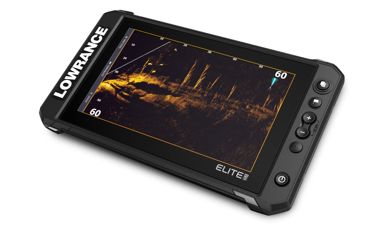 Lowrance debuted ActiveTarget Live Sonar today.