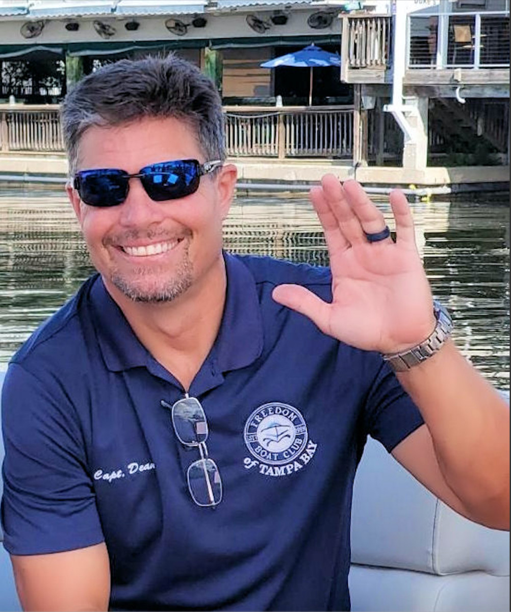 Capt. Dean Iverson is the training supervisor and communications director for Freedom Boat Club of Tampa Bay.