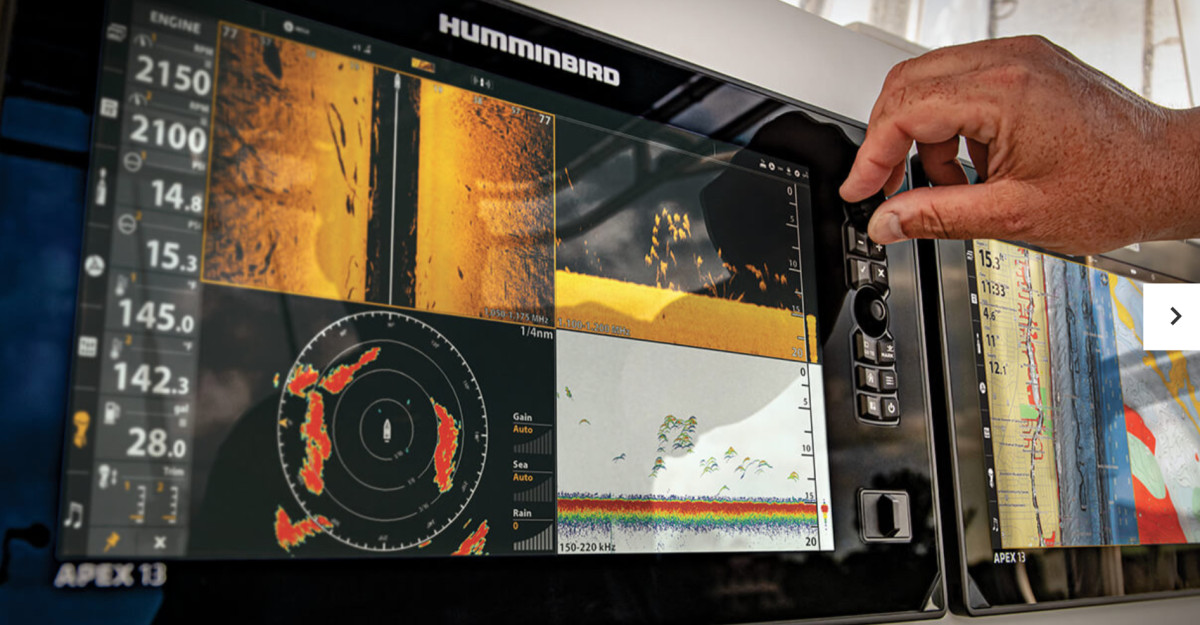 Demand for the company's Humminbird brand drove fishing revenues up 9 percent in the quarter.