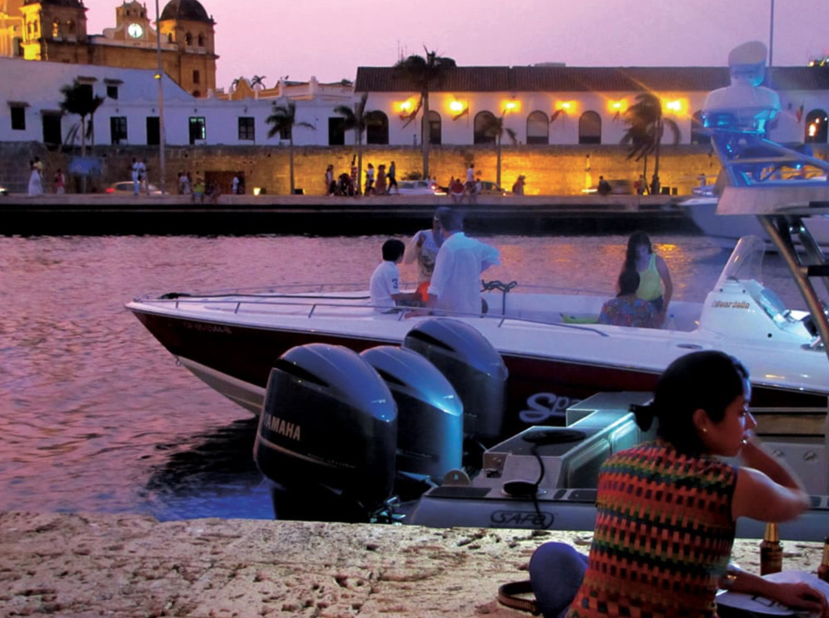 Colombia is emphasizing boating as a draw for tourists.