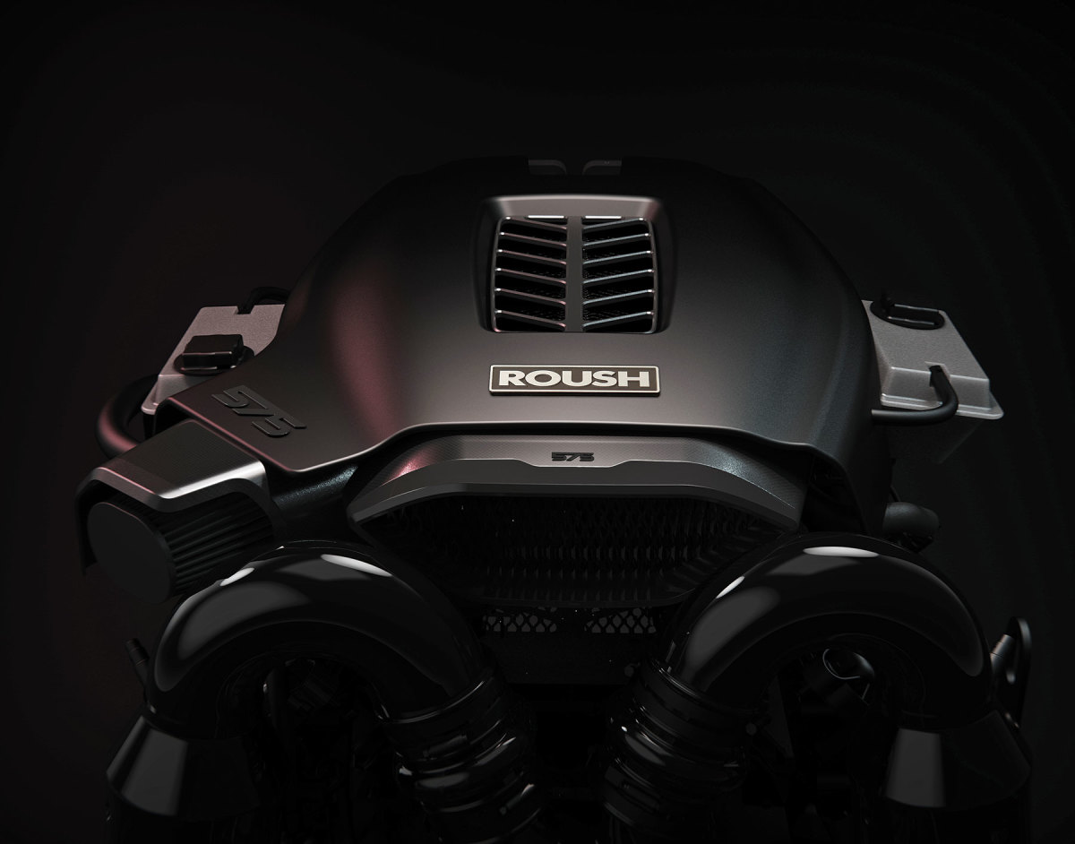 The Roush Raptor 575 Concept is the latest and largest power plant in Indmar's Ford-derived model line.