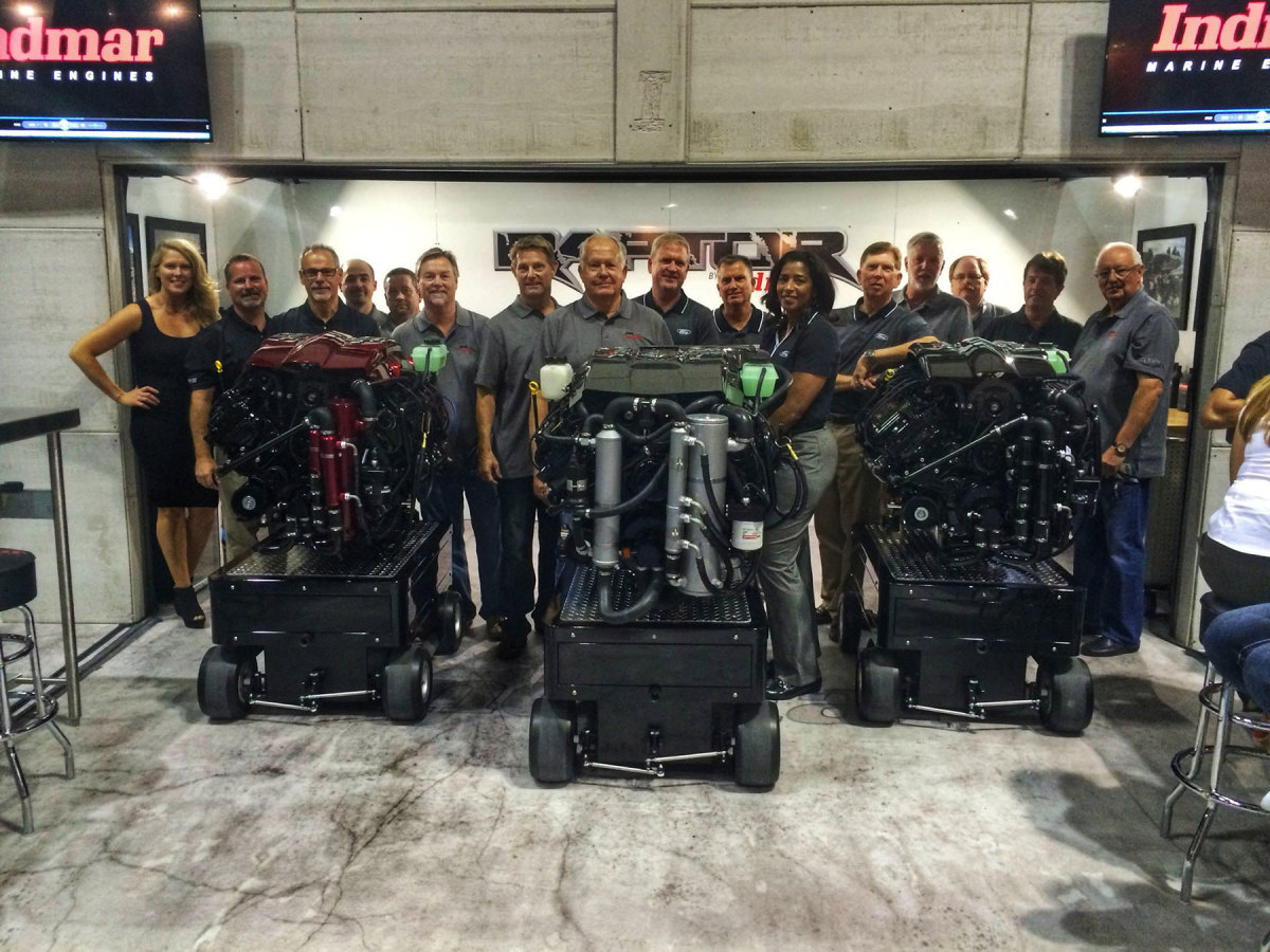 It was all hands on deck for the launch of Indmar's Raptor series, a collaboration with Ford