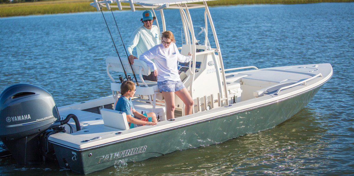 Pathfinder expands Malibu's offerings in the under-30-foot segment (Pathfinder 2200 shown).