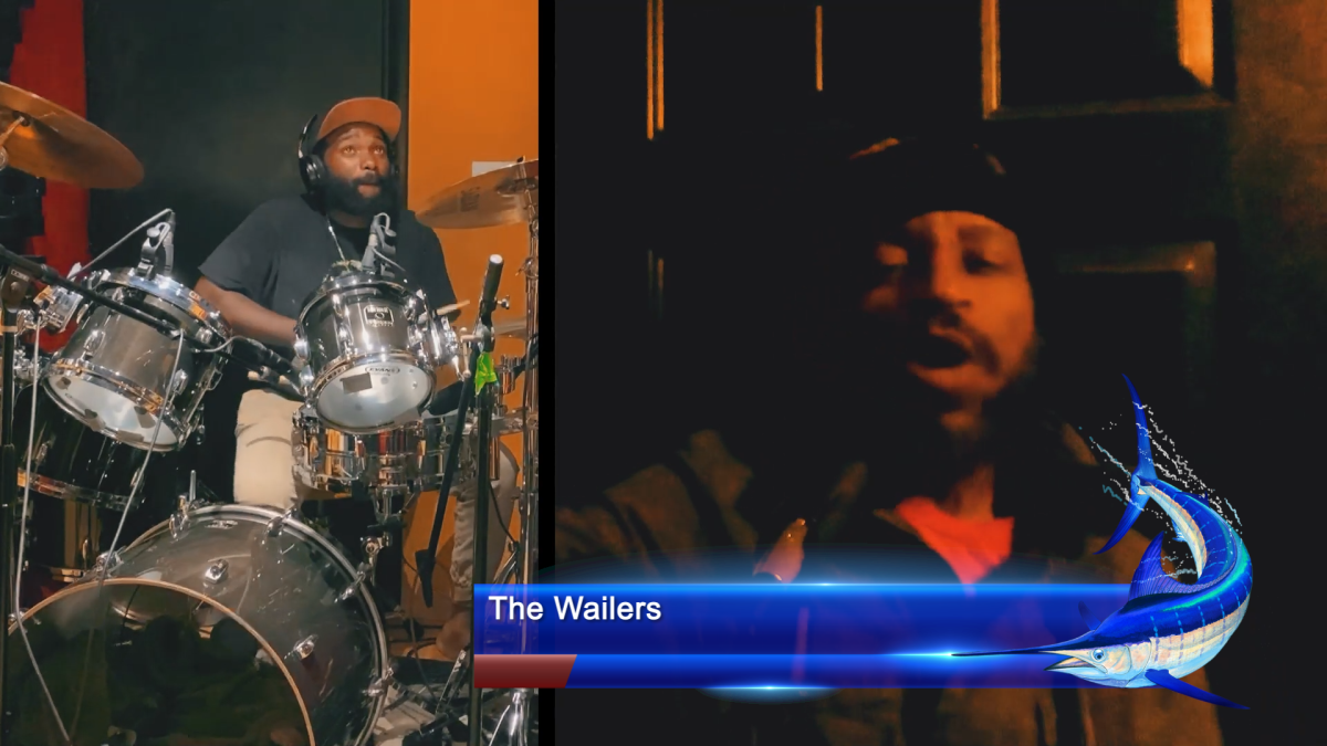 The Wailers performed during the fundraiser.
