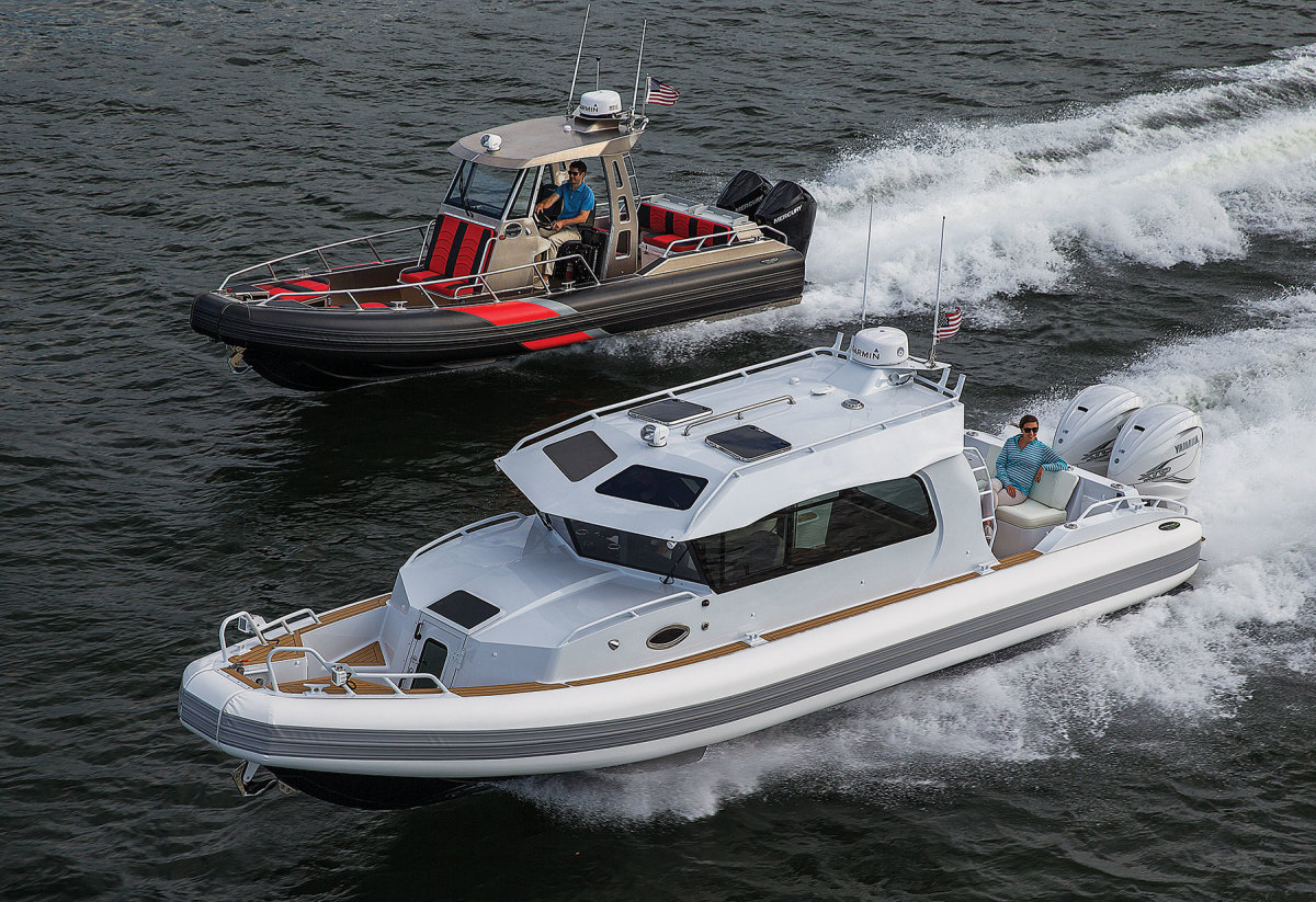 Washington state's Inventech Marine, builder of Life Proof RIBs, has not experienced slowdowns from Canadian suppliers due to tariffs.