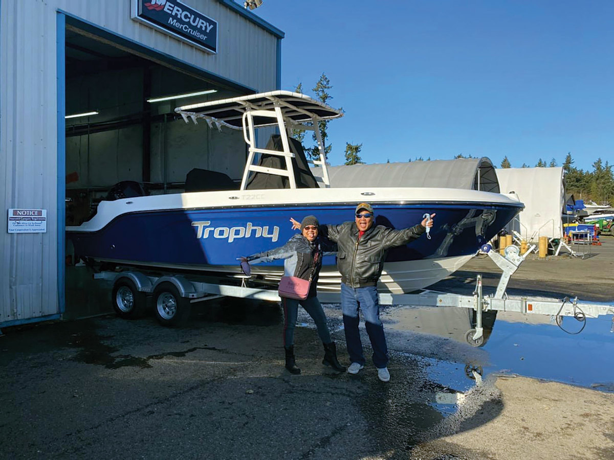 Seattle-based Union Marine delivered boats into the winter months.