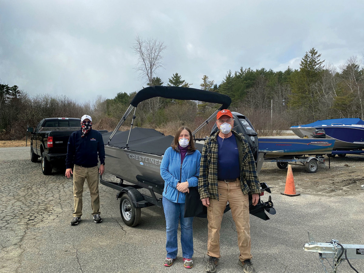 Maine-based Clark Marine salvaged leads from prepandemic boat shows by using video to communicate with customers.