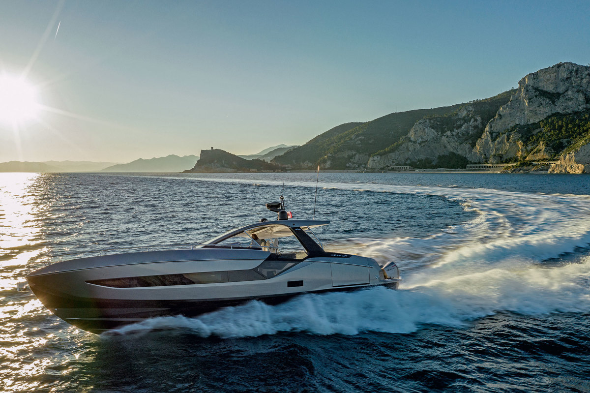 The flagship of Azimut's Verve series, the 47 will be joined by a 42-footer later this year.