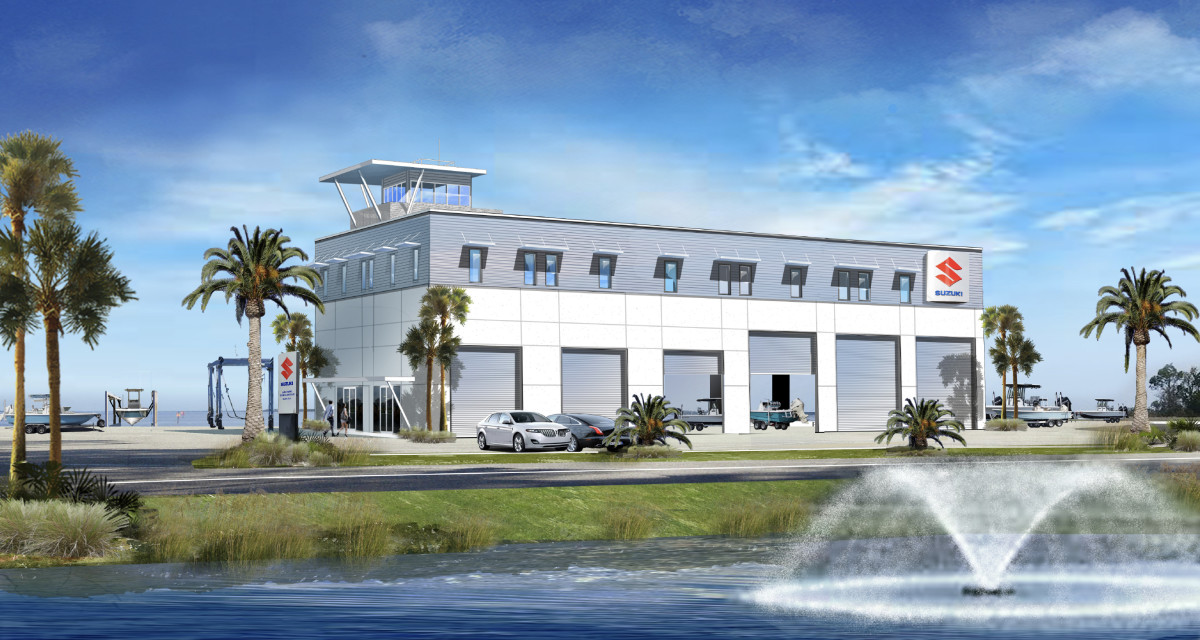 Suzuki's Marine Technical Center in Panama City, Fla., opened last June.
