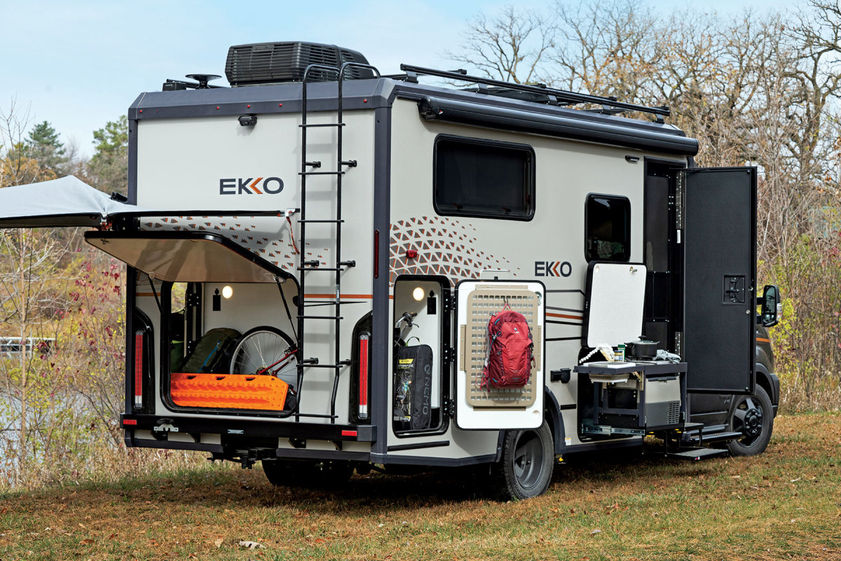 Winnebago calls the new Ekko an ultracompact Class C motor home.