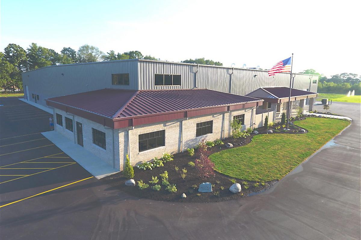 Bennington's new 43,485-square-foot facility.