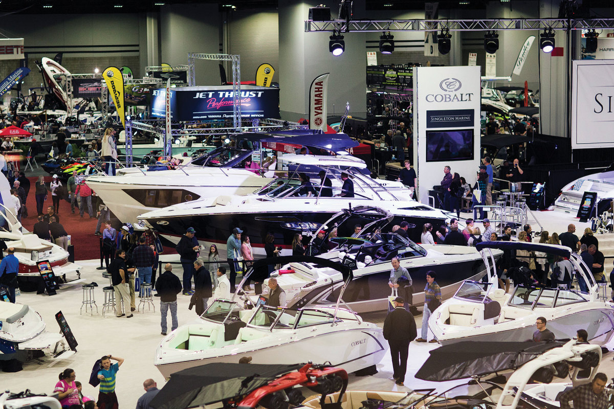 The pandemic forced NMMA to cancel several of its early 2021 events, including the Atlanta Boat Show.