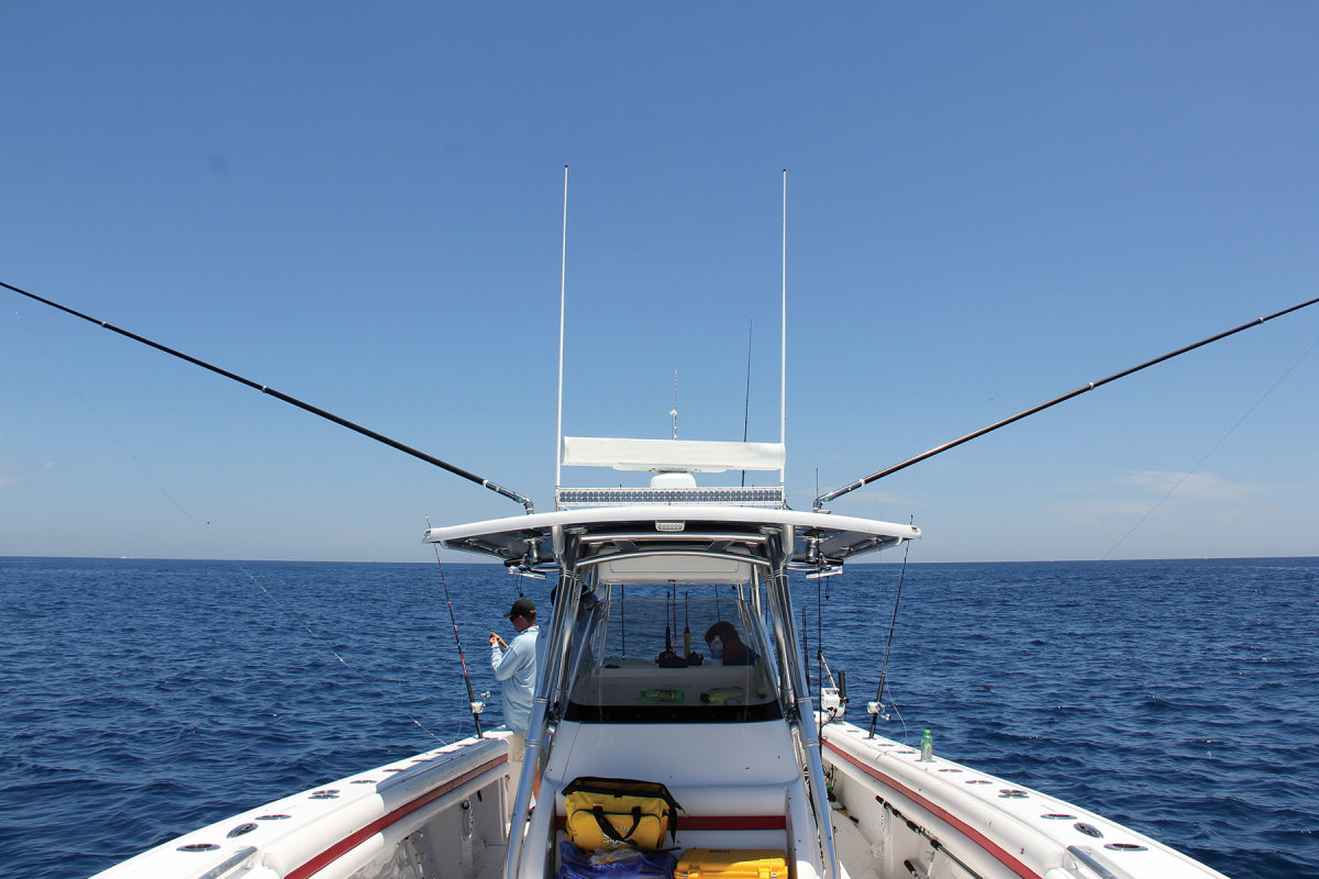 Taco Metals manufactures a variety of outrigger poles and mounts.