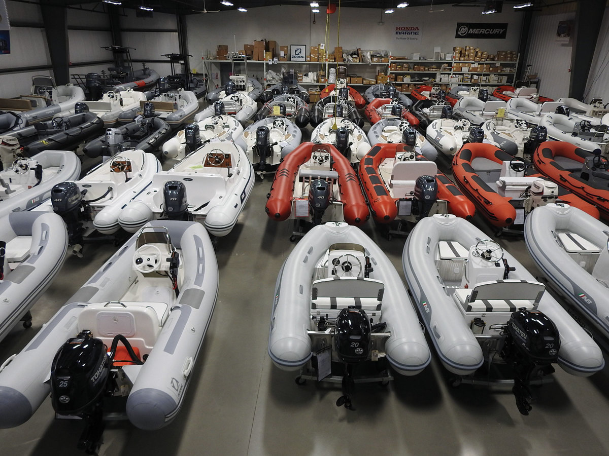 Defender Marine is a leading supplier of RIBs and inflatables to 15 feet.