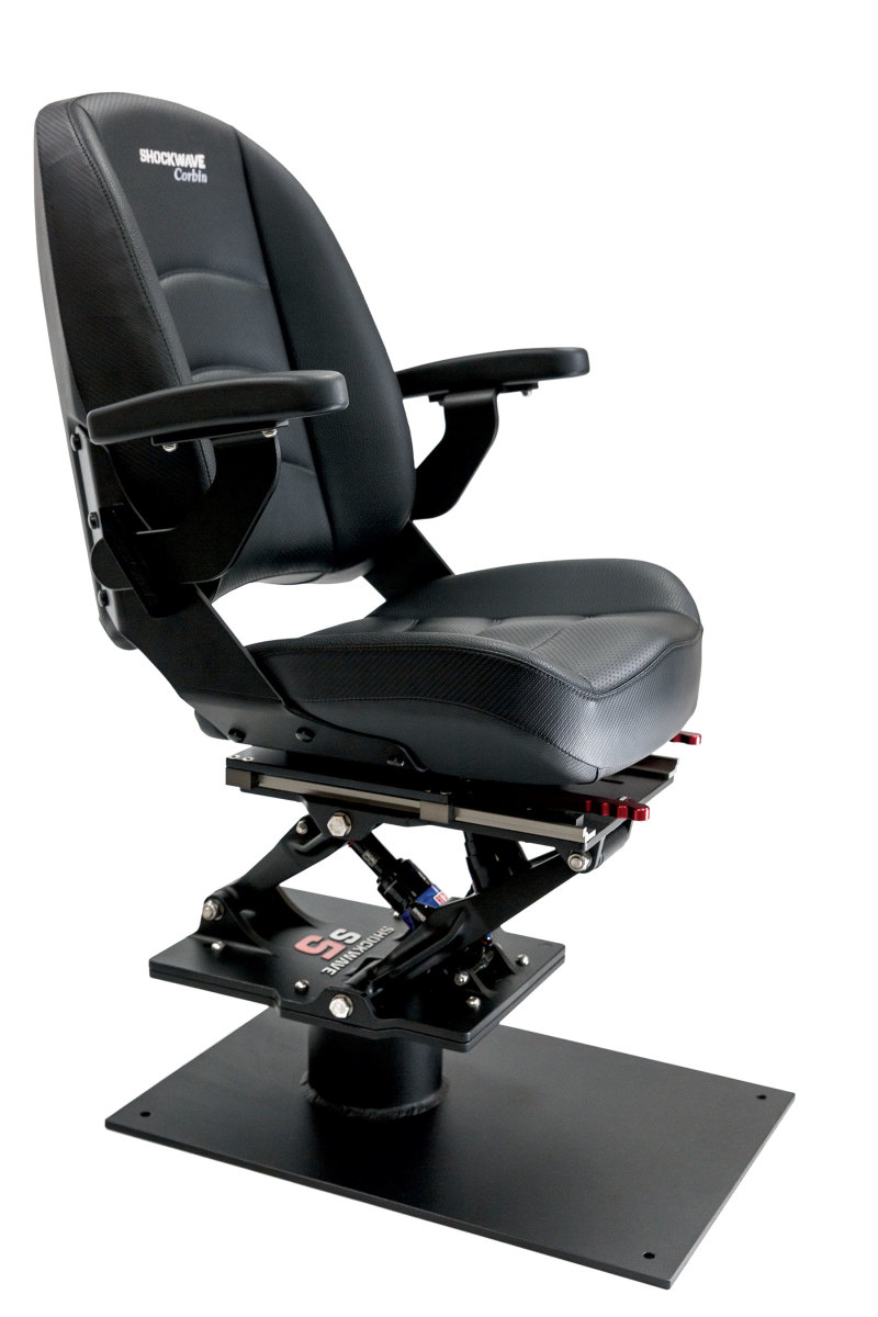 Shockwave's S5 Suspension Module and Corbin2 seat are the company's key recreational products.