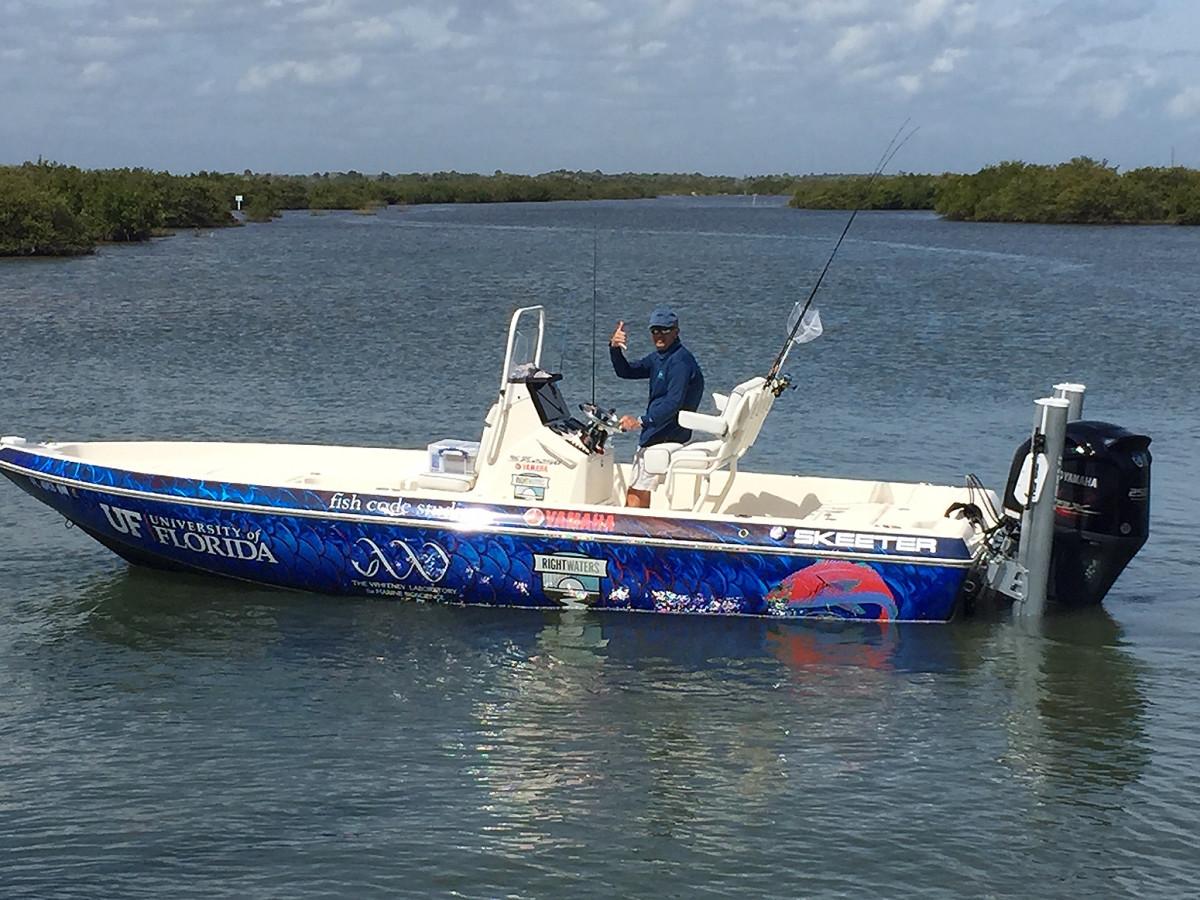 U_Florida Redfish Boat