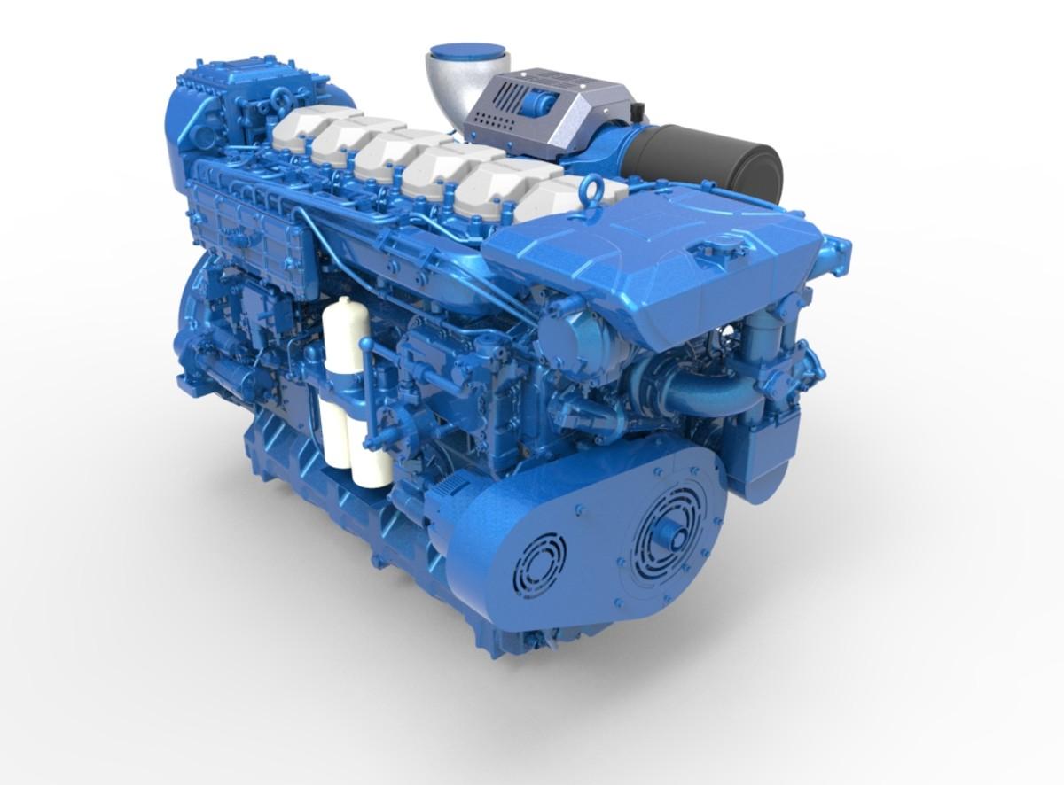 BAUDOUIN MARINE ENGINE 6 M26.3_1