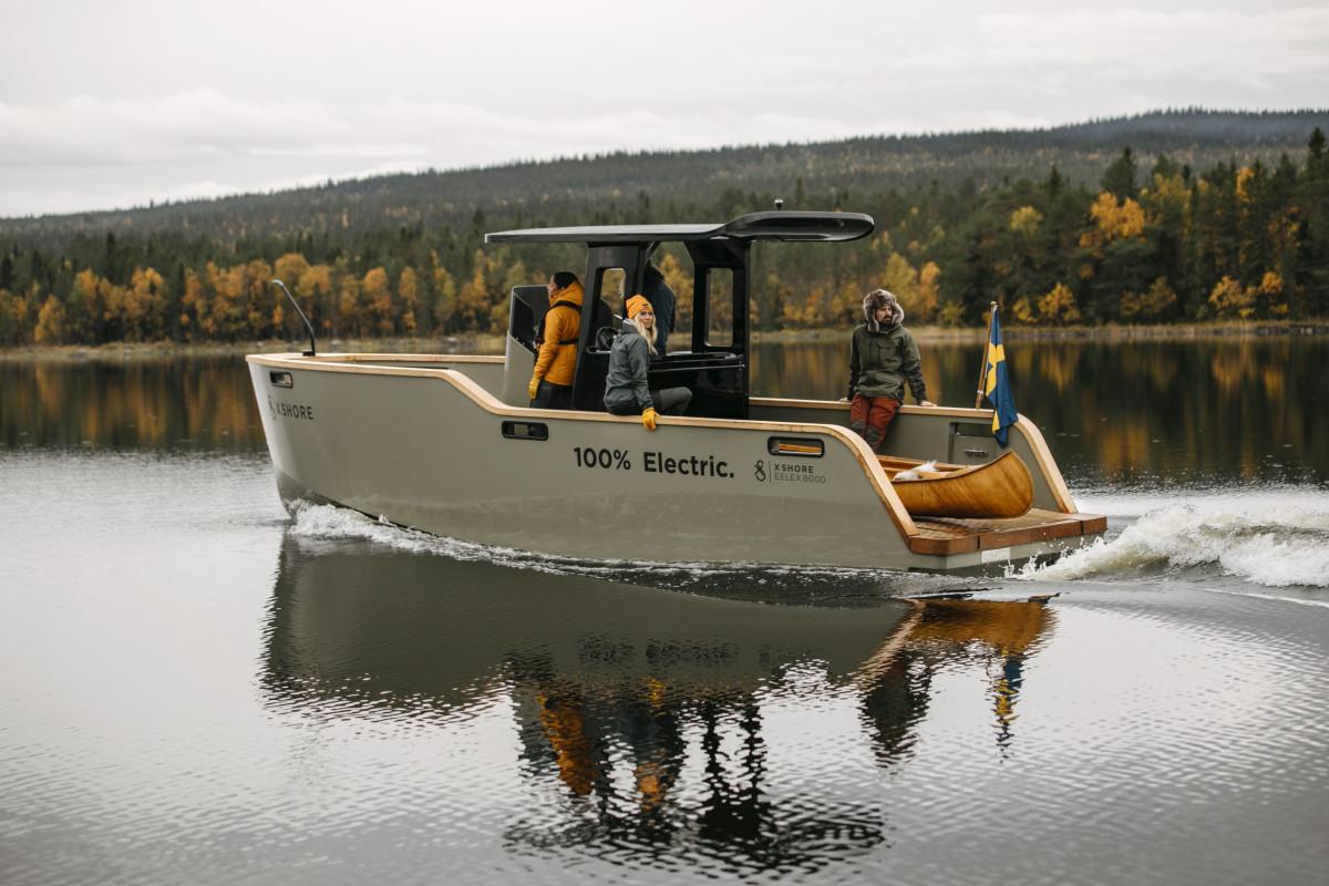 X Shore Eelex 8000
