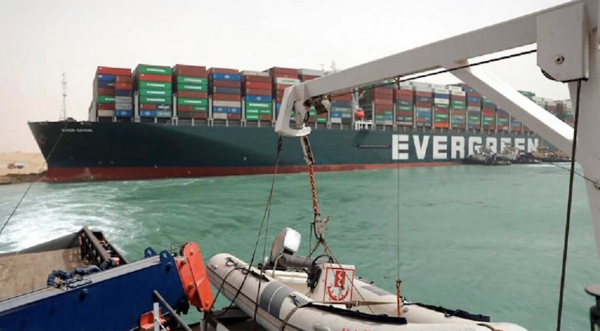 1_Ever Given in Suez Canal
