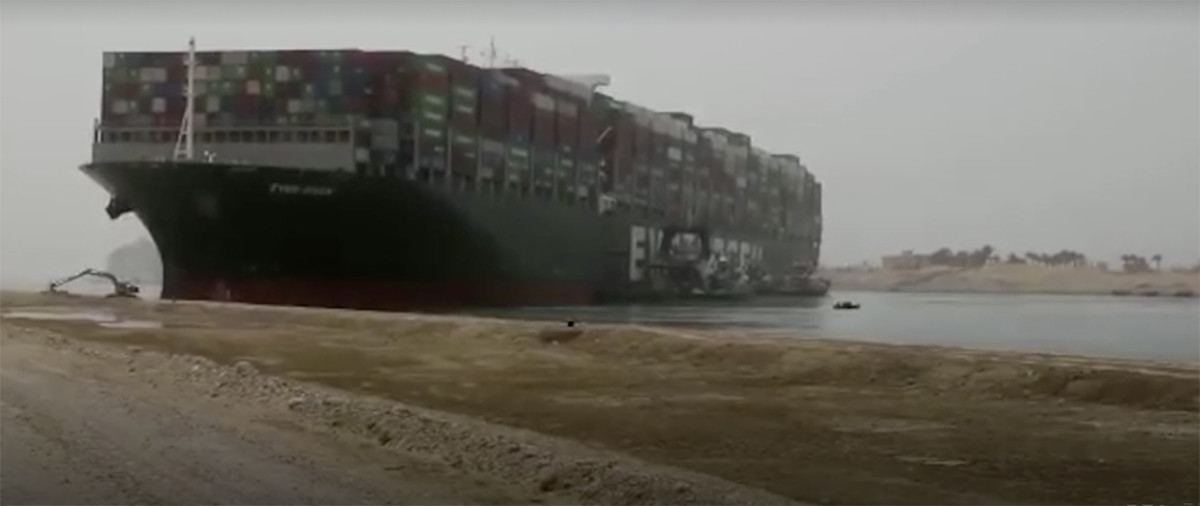 2_Ever Given in Suez Canal