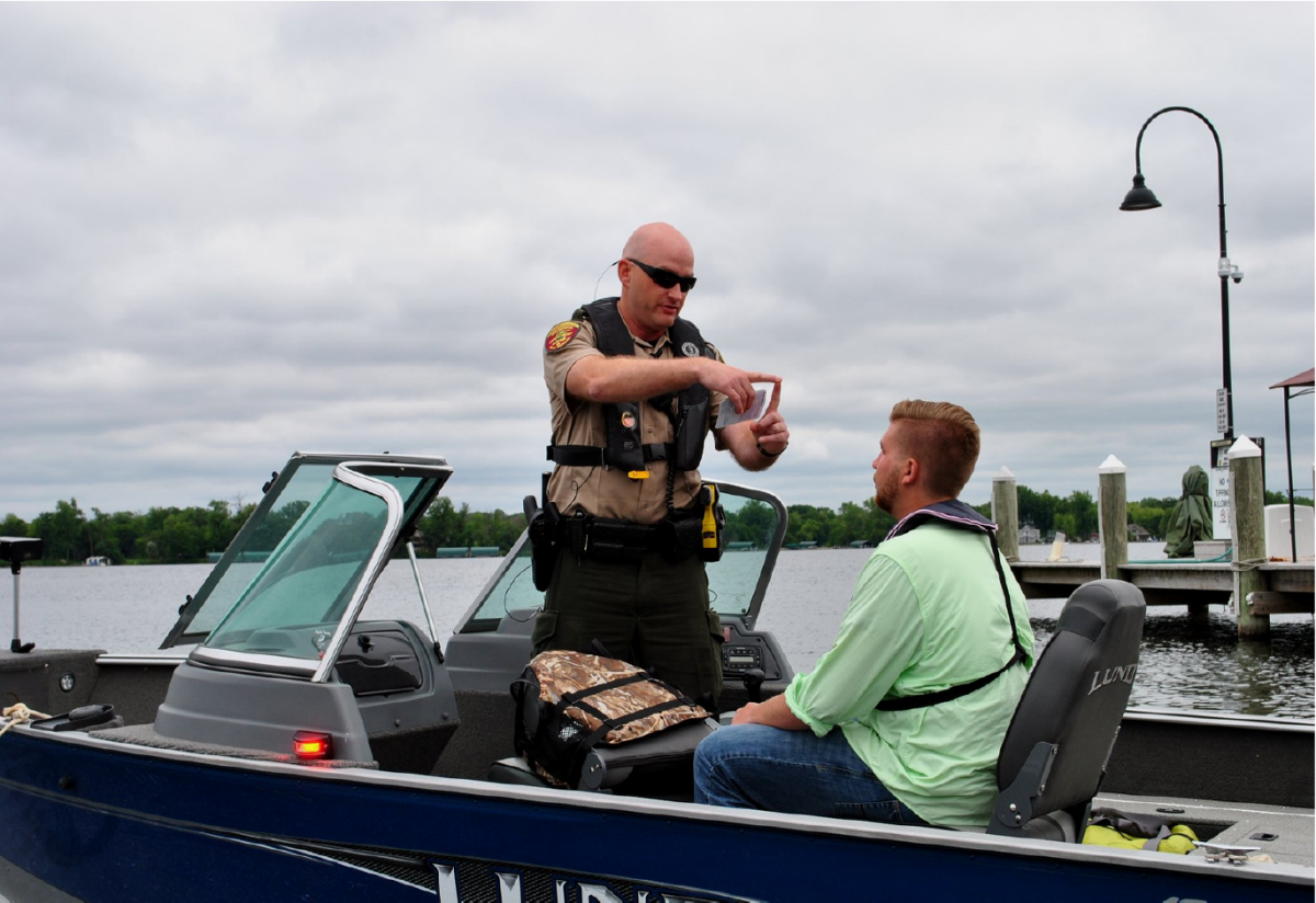 Marine patrols around the country participate annually in Operation Dry Water.