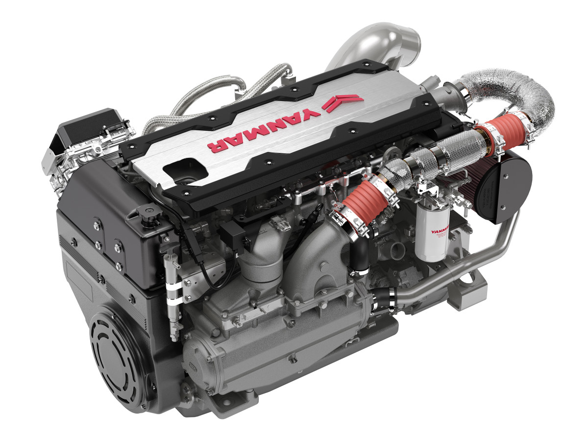 The Yanmar 6LF is available in 485, 530 and 550-hp versions.