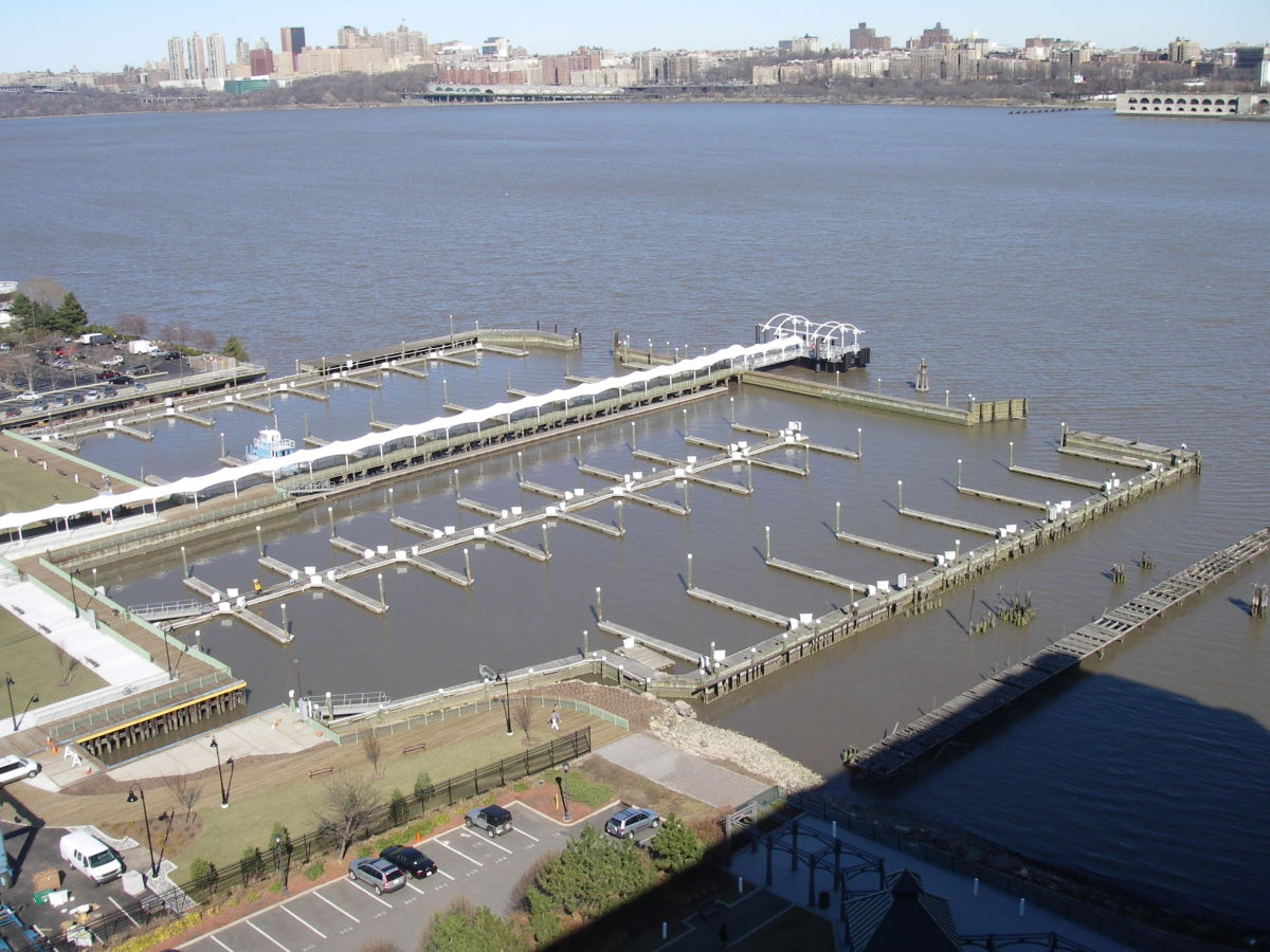 Edgewater Marina is managed by the borough of Edgewater, N.J.