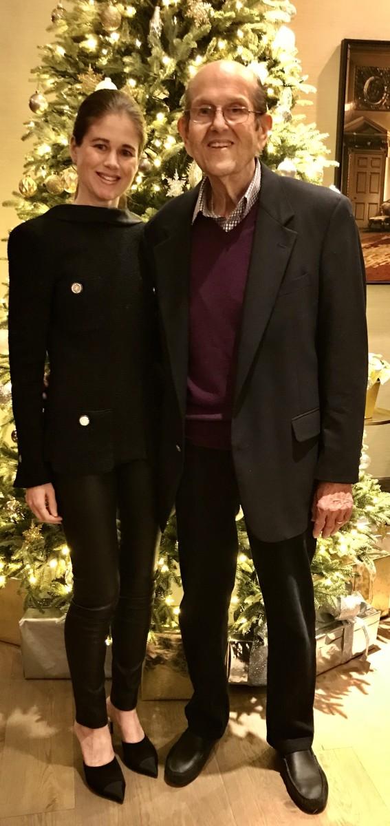 Julie Kurtz and her father, Norman Kurtz