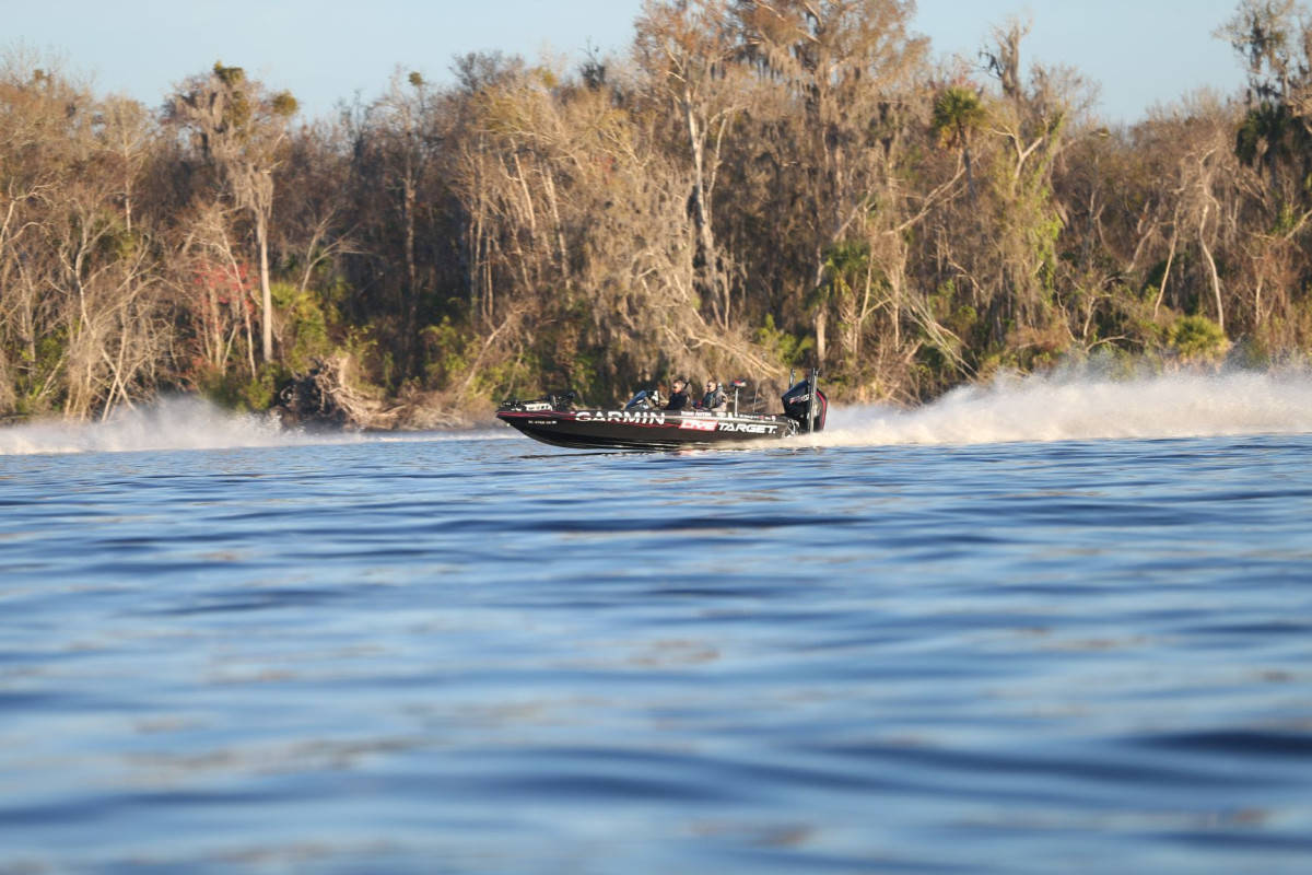 Todd Auten is one of 18 Bassmaster Elite Series anglers who are on Garmin's national pro team. Photo by B.A.S.S.