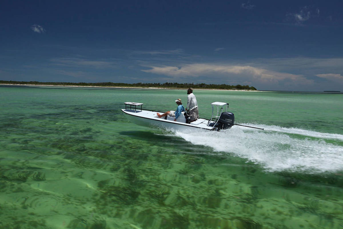 Flats fishing is one of the most popular activities in the Florida Keys.