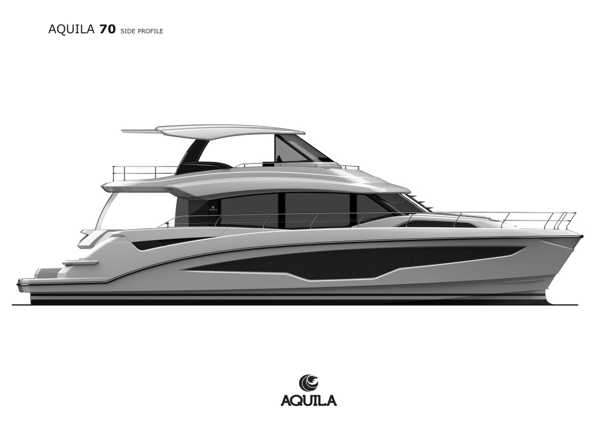 Rendering of the Aquila 70