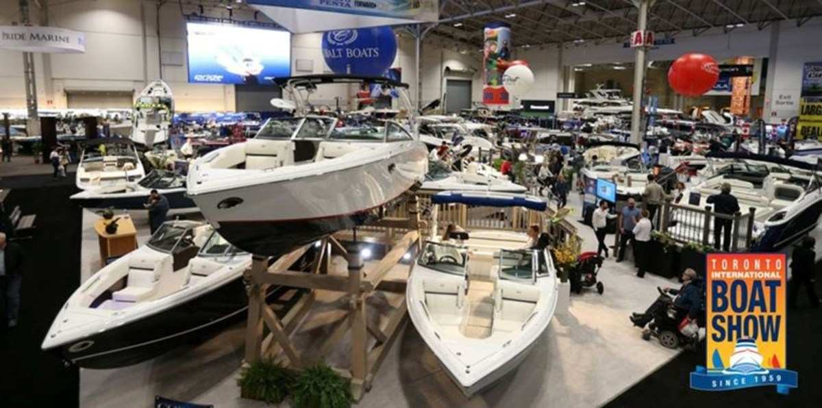 The Toronto Boat Show reported strong sales, some of which could be impacted by the proposed tax.
