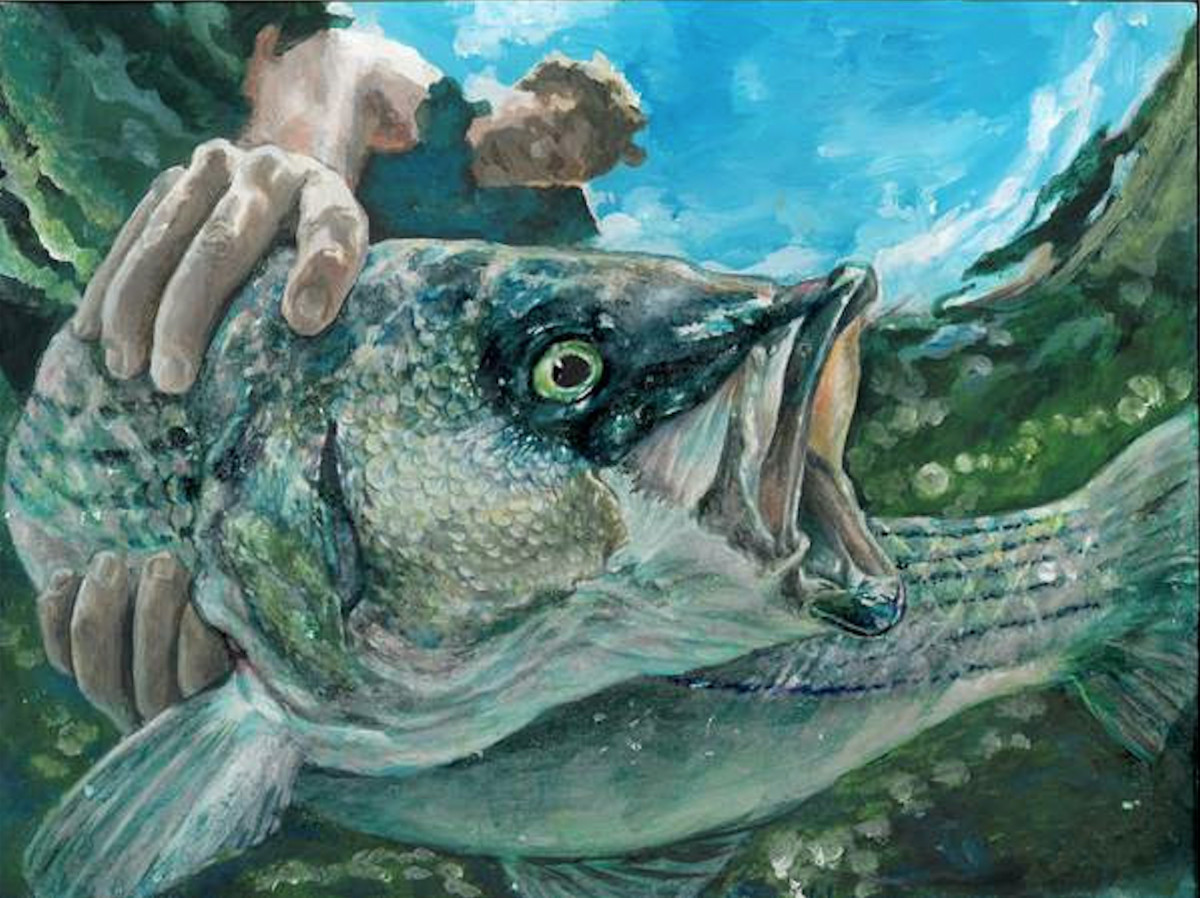 An 11th-grader earned the 2018 Art of Conservation award for his painting, Wildlife Forever.