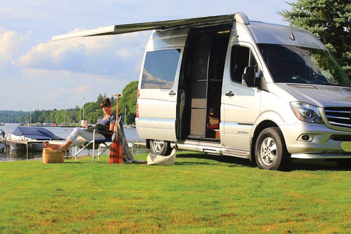 Class B vans have seen the strongest growth in motor home categories.