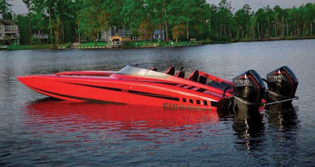 Fountain, one of Iconic Marine's brands, entered the twin-outboard catamaran segment with the 34 Thunder Cat.