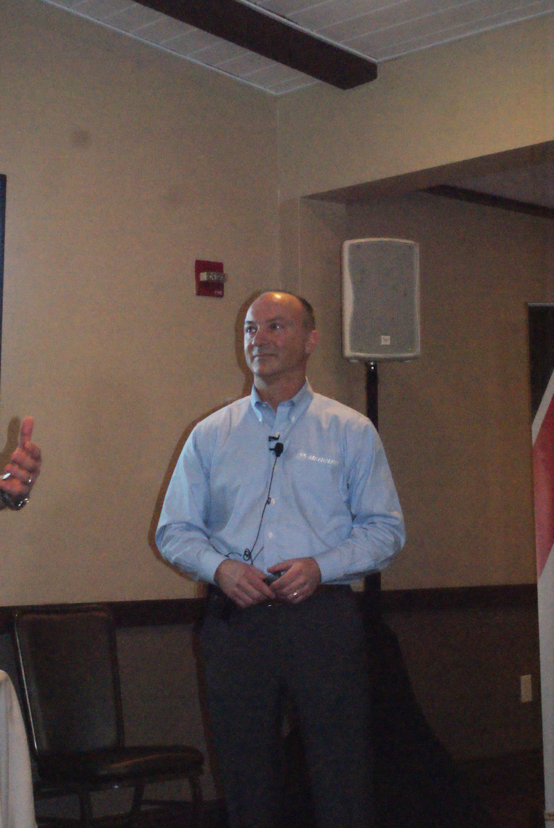 Mercury Marine president Chris Drees