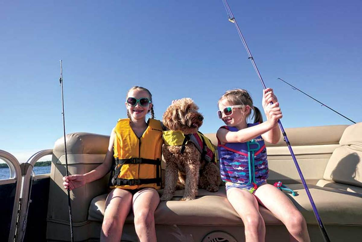 Mentoring youth into boating can set them on a course for an active outdoor lifestyle as they grow older.