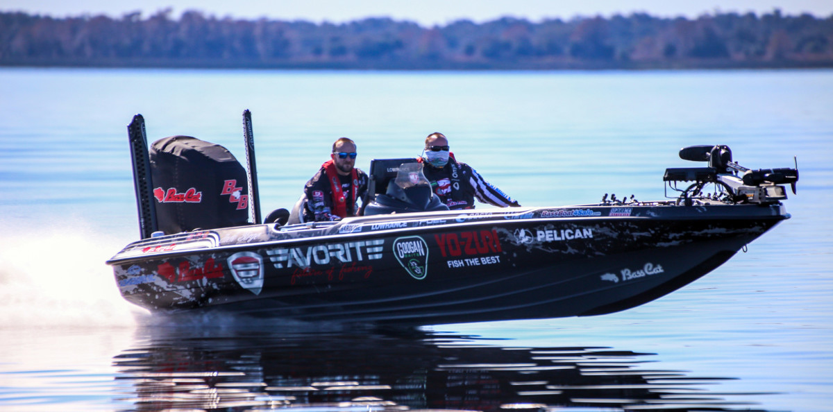 Zack Birge is one of several MLF pros sponsored by Bass Cat Boats.