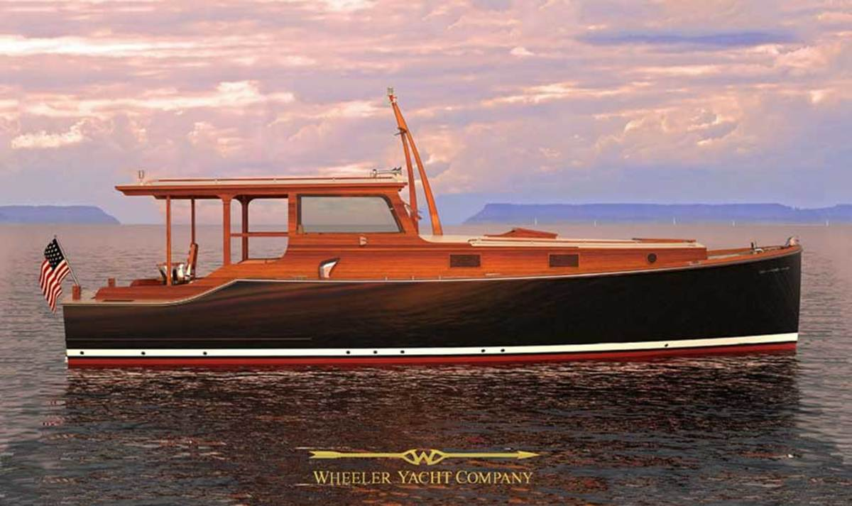 The Wheeler 38 is based on Hemingway's Pilar.