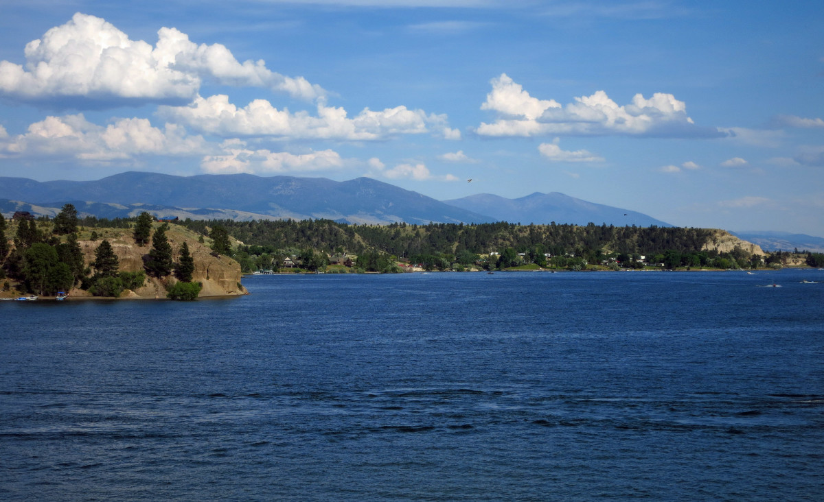 Canyon Ferry Lake is Montana's third-largest body of water.
