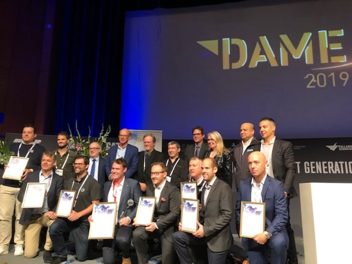 The 2019 DAME design award winners.