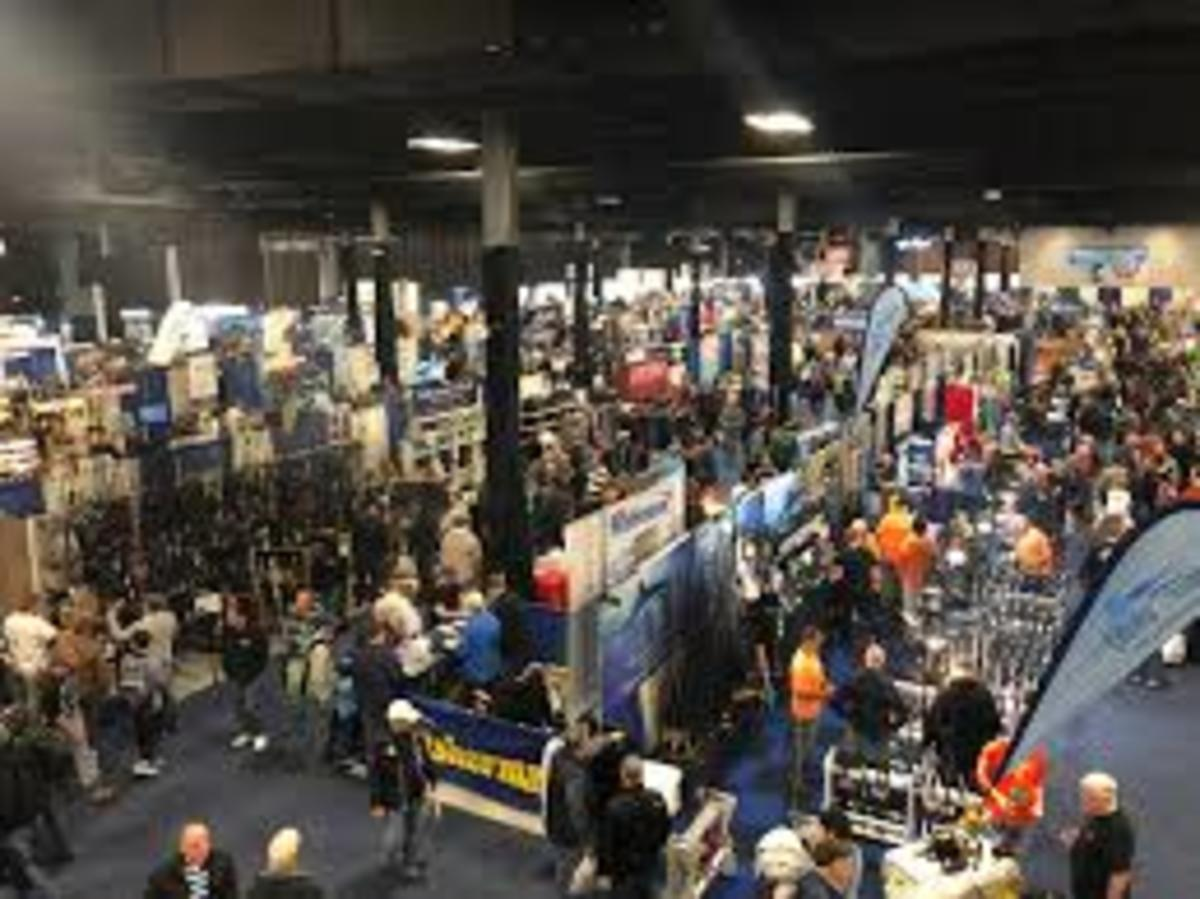 The Progressive Insurance Saltwater Fishing Expo in Edison, N.H., will go on as scheduled next weekend.
