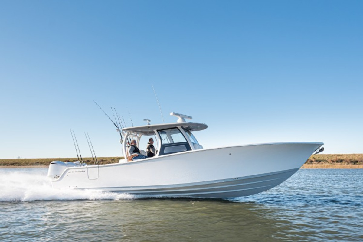 Sportsman boats longer than 25 feet will have Dometic's digital switching
